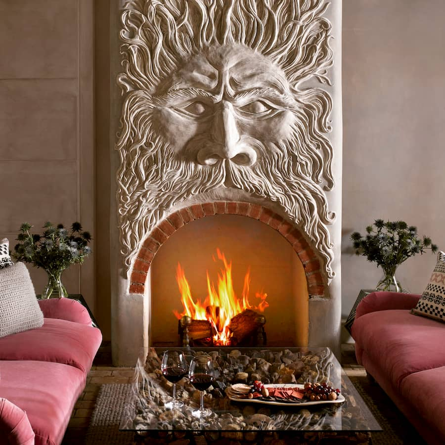 Green Man Fireplace