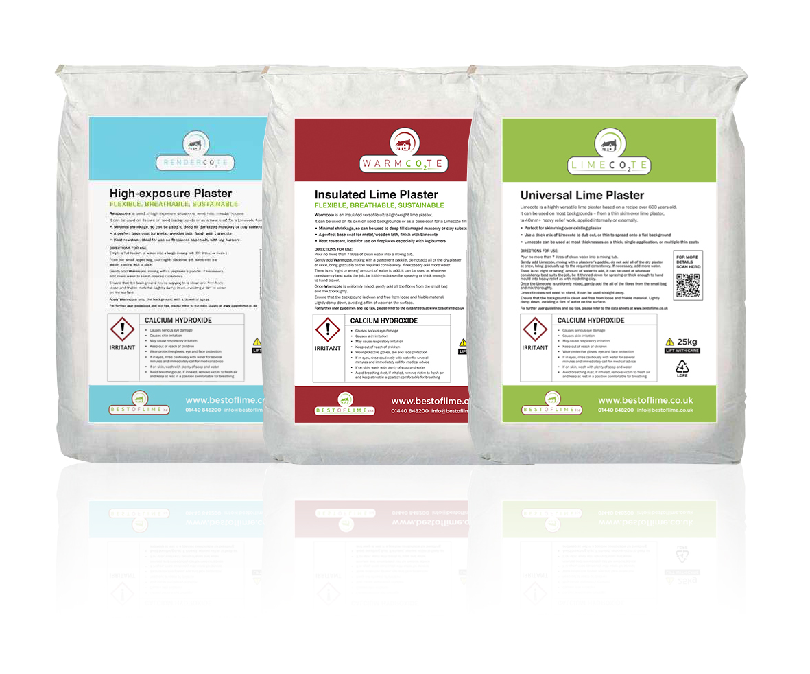 Lime Plaster Bags
